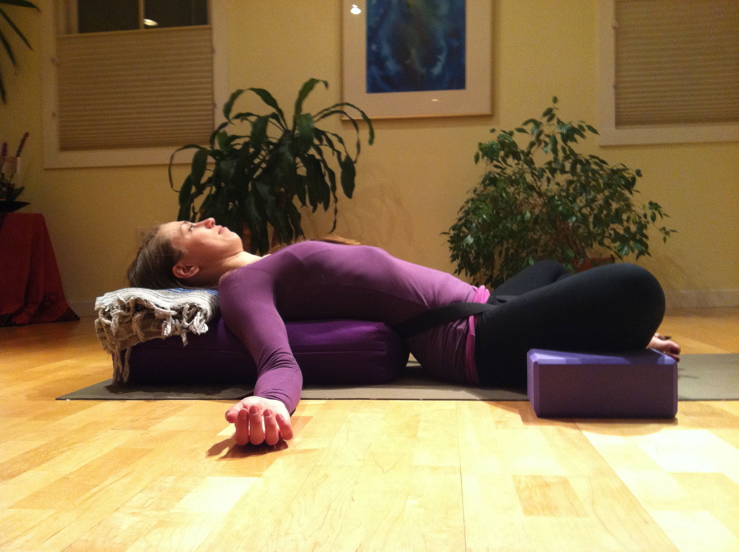 Supta Virasana The Sister Hawk Blog