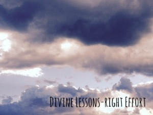 divine lessons right effort